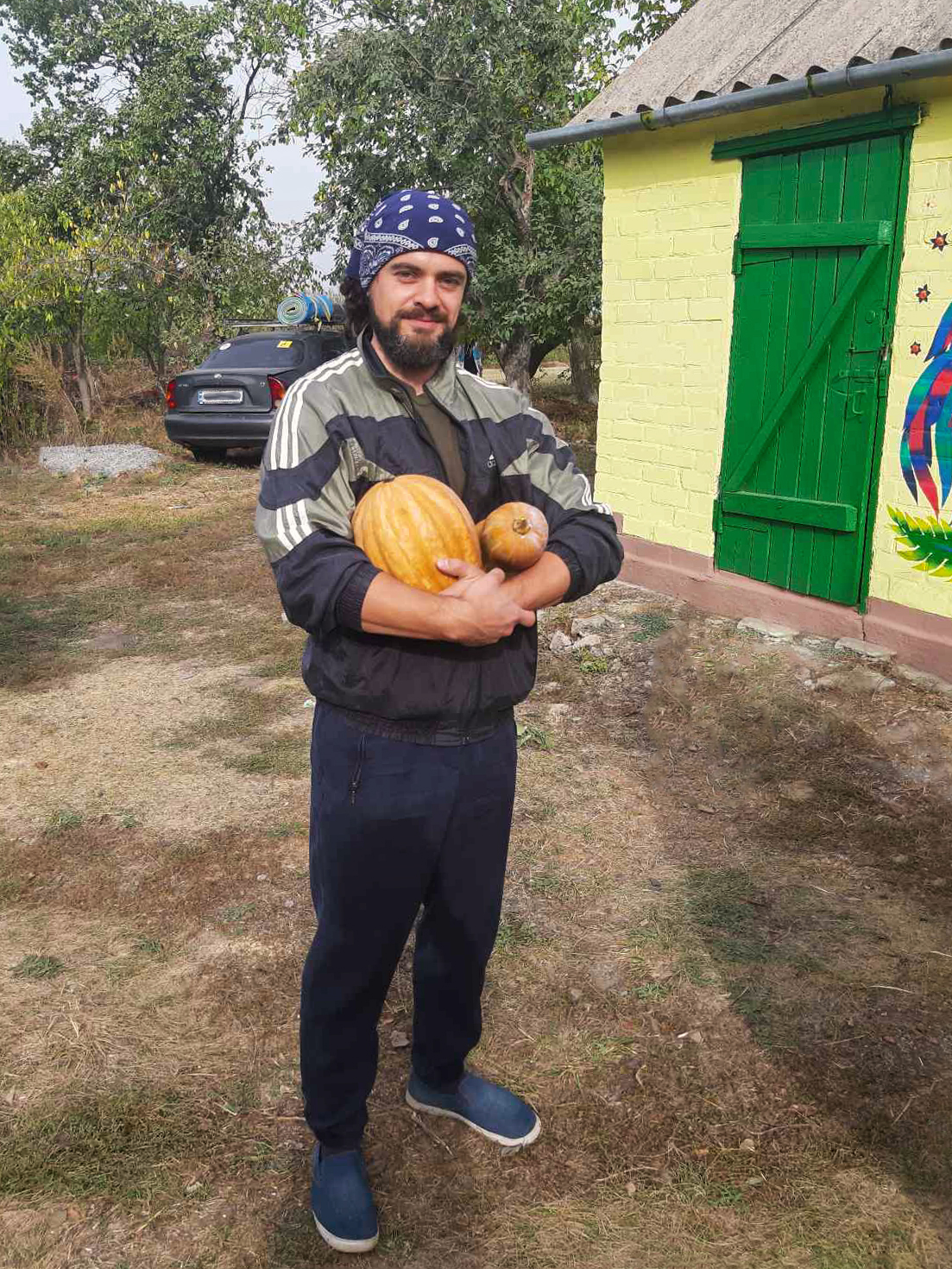 Гарбуз тыква, кабак - самый полезный овощ на украинской земле