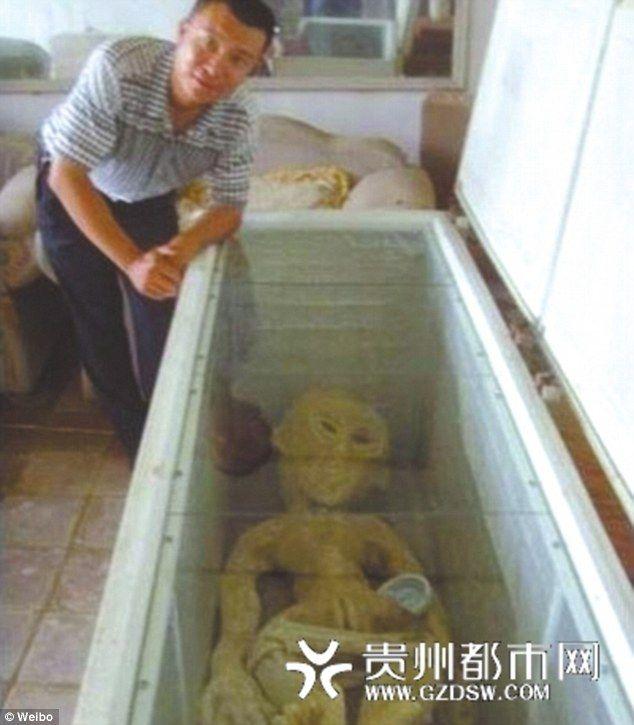 Китаец опубликовал фотографии пришельца