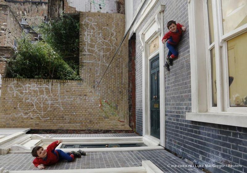 Дом, превращающий человека в супергероя