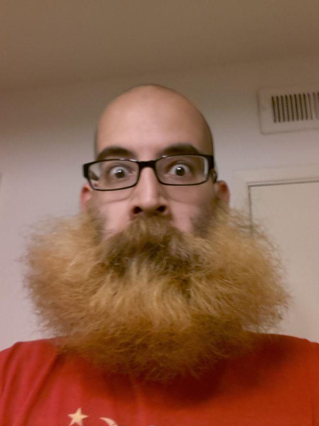 Ты зачем бороду сбрил, дурик?