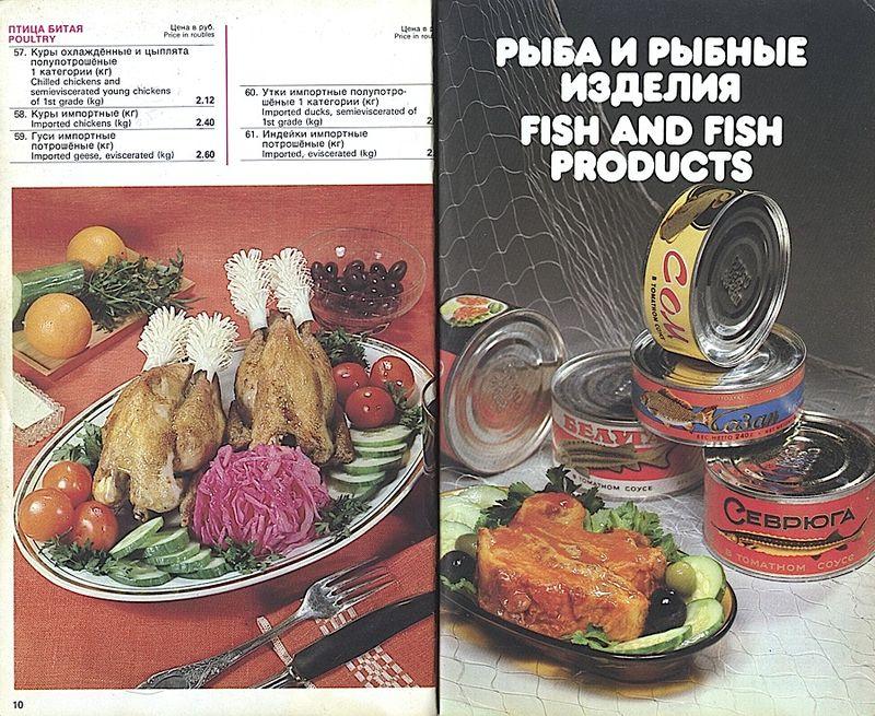 Прейскурант на продовольственные товары 1983-0006