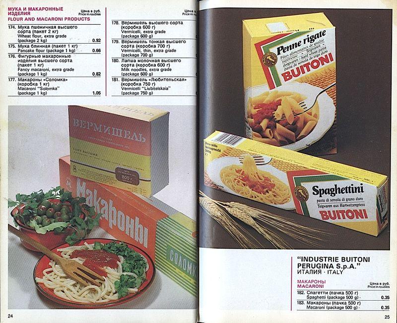 Прейскурант на продовольственные товары 1983-0013