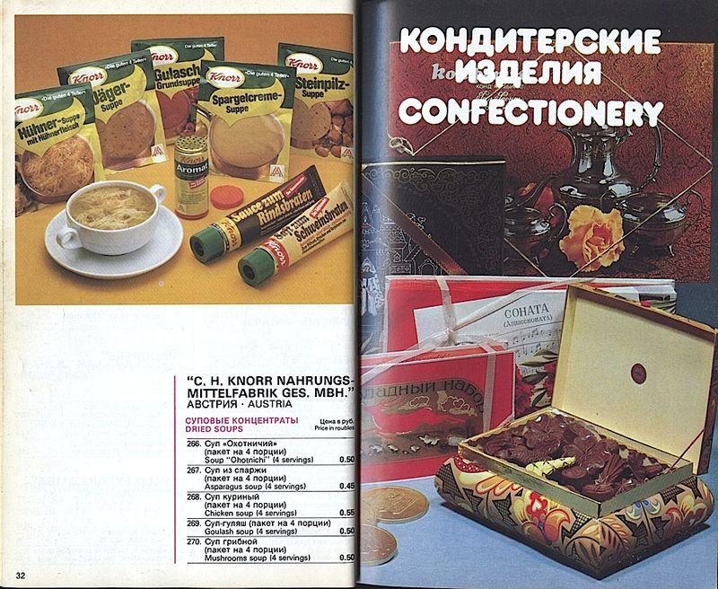 Прейскурант на продовольственные товары 1983-0017