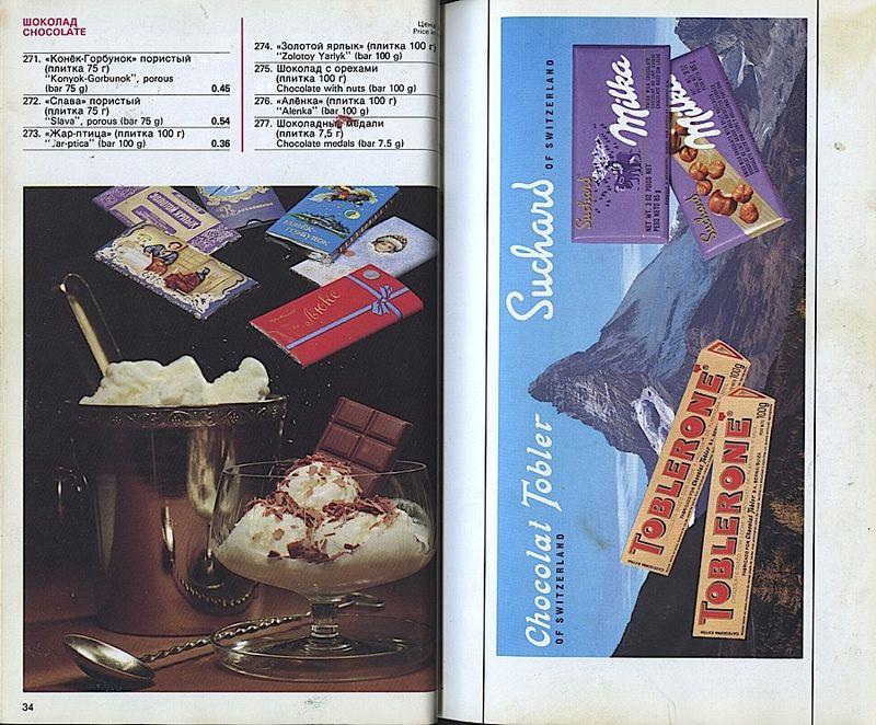 Прейскурант на продовольственные товары 1983-0018