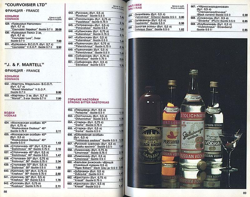 Прейскурант на продовольственные товары 1983-0038