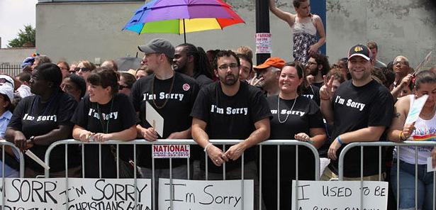 Христиане из Чикаго просят прощение...