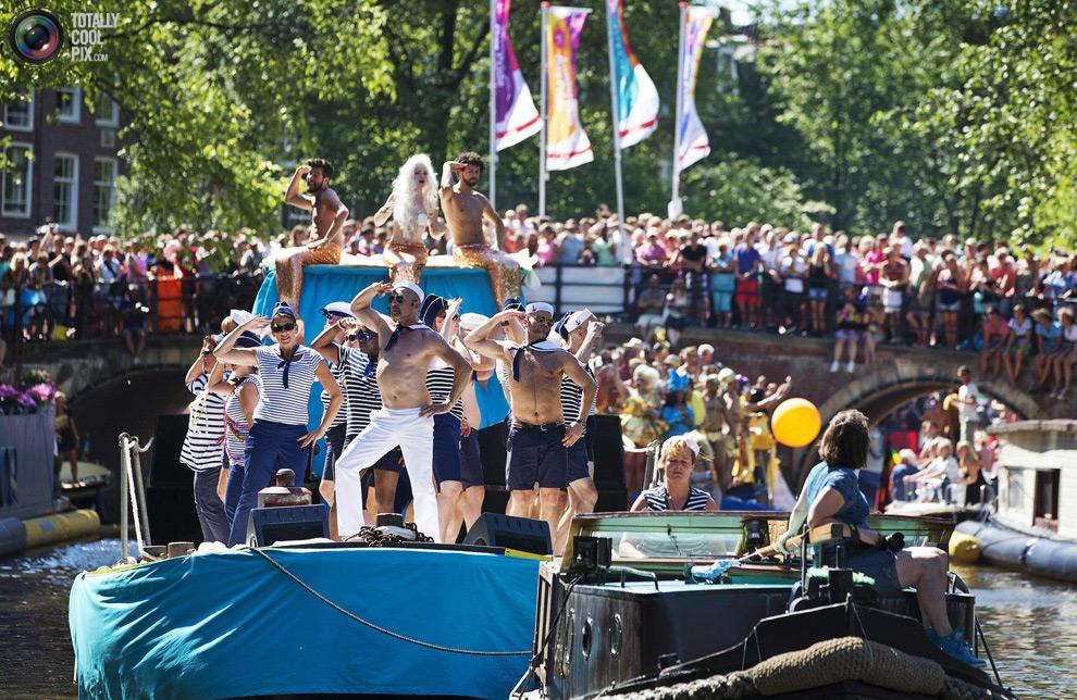 Пидарастический фестиваль в Амстердаме. Срамота!