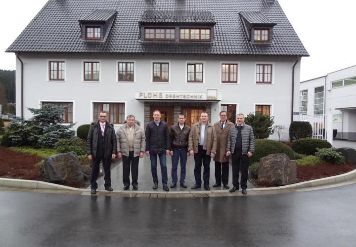 Поездка на завод Flühs Drehtechnik