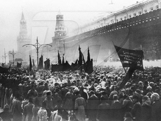 Похороны В.И.Ленина на Красной площади