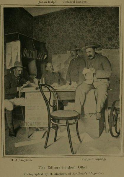 Киплинг в Южной Африке, 1895
