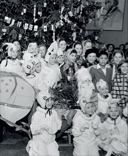 1938. Кремлевская елка — главная елка