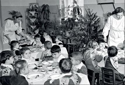 1959. Новогодняя елка в детском саду
