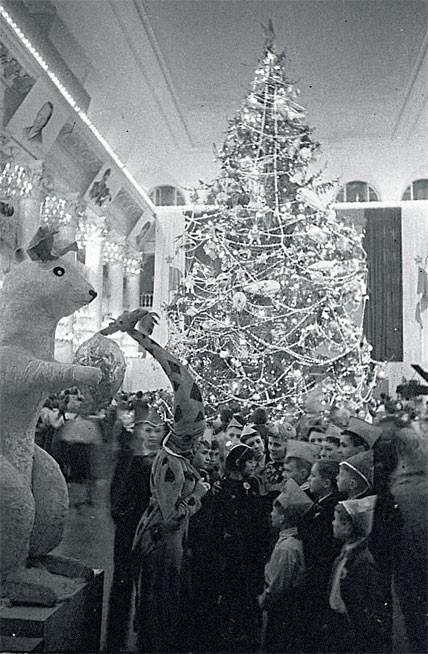 1941. Колонный зал Дома союзов