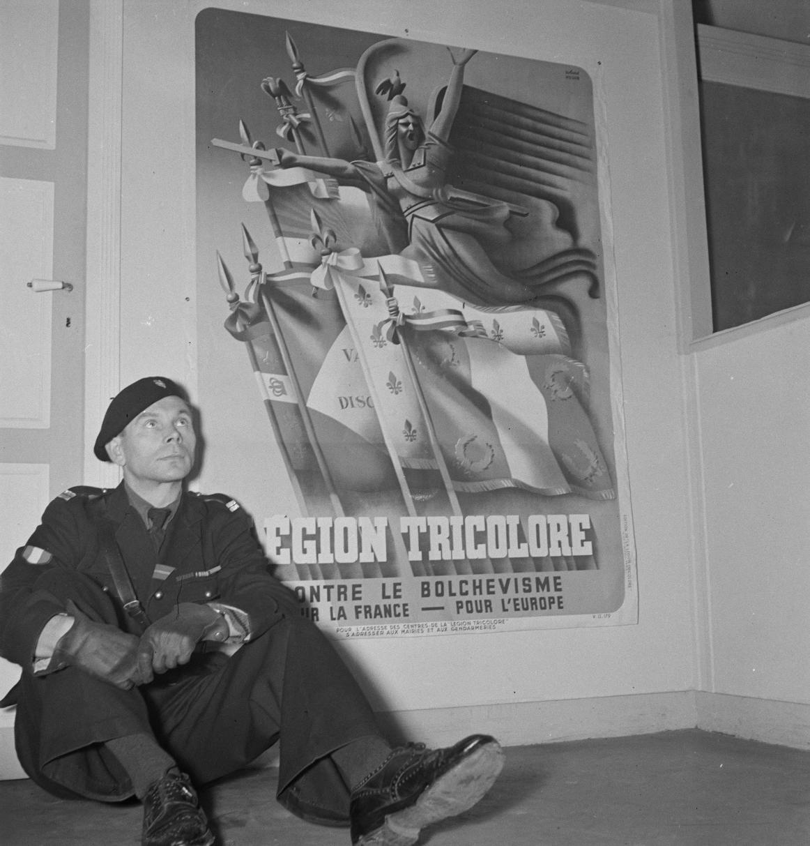 015. Легион французских добровольцев против большевизма. Доброволец