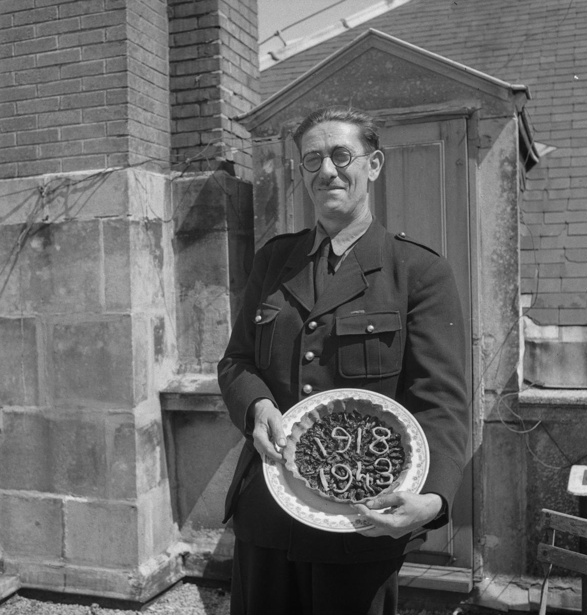 017. Пьер Клод, ветеран и доброволец. Шомонт (Верхняя Марна). 15 августа 1943