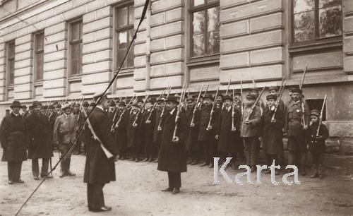 Отдел городской гражданской самообороны, 1919 г.