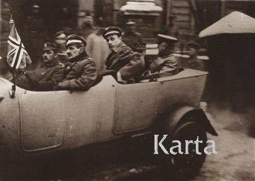 Члены английской делегации, 1919 г.