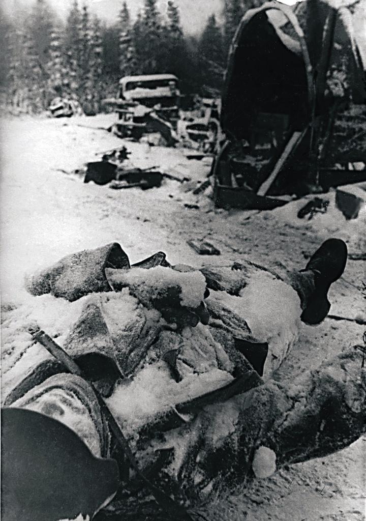 1941. Тихвинская наступательная операция. Ноябрь