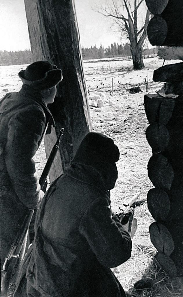 1942. Северо-Западный фронт. К отражению контратаки противника готовы. Декабрь