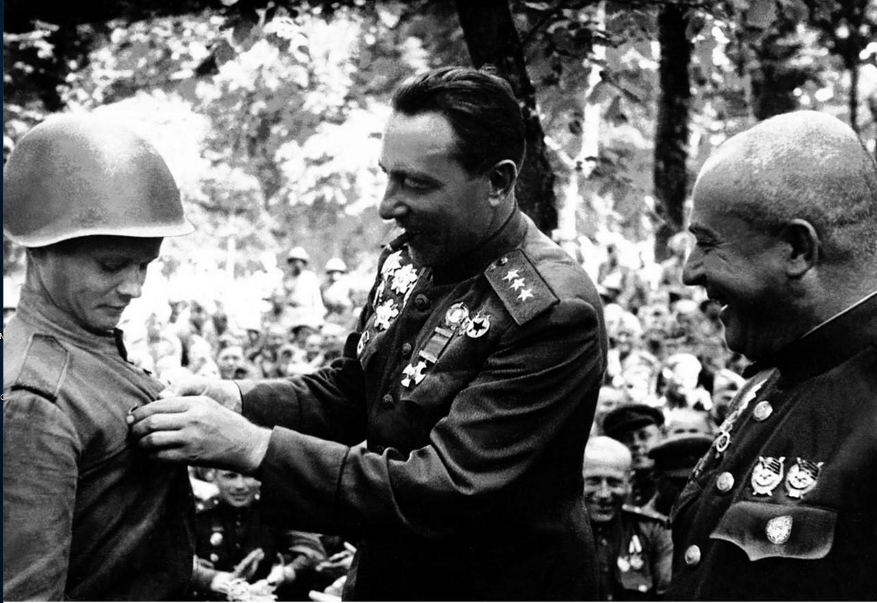 1943. После битвы на Курской дуге. 44-я гвардейская танковая бригада