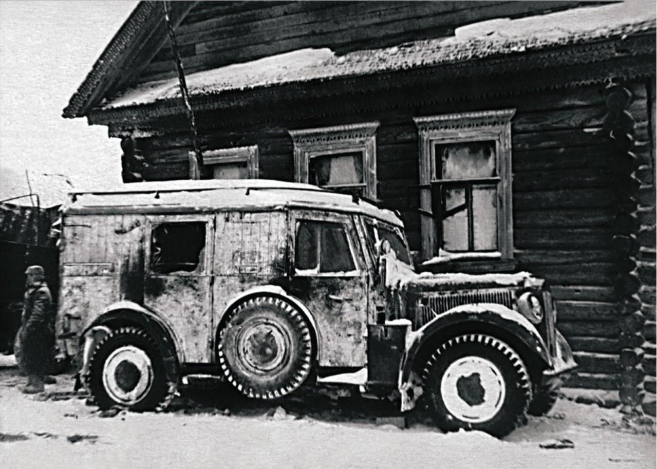 1943. Северо-Западный фронт. Разбитая техника врага