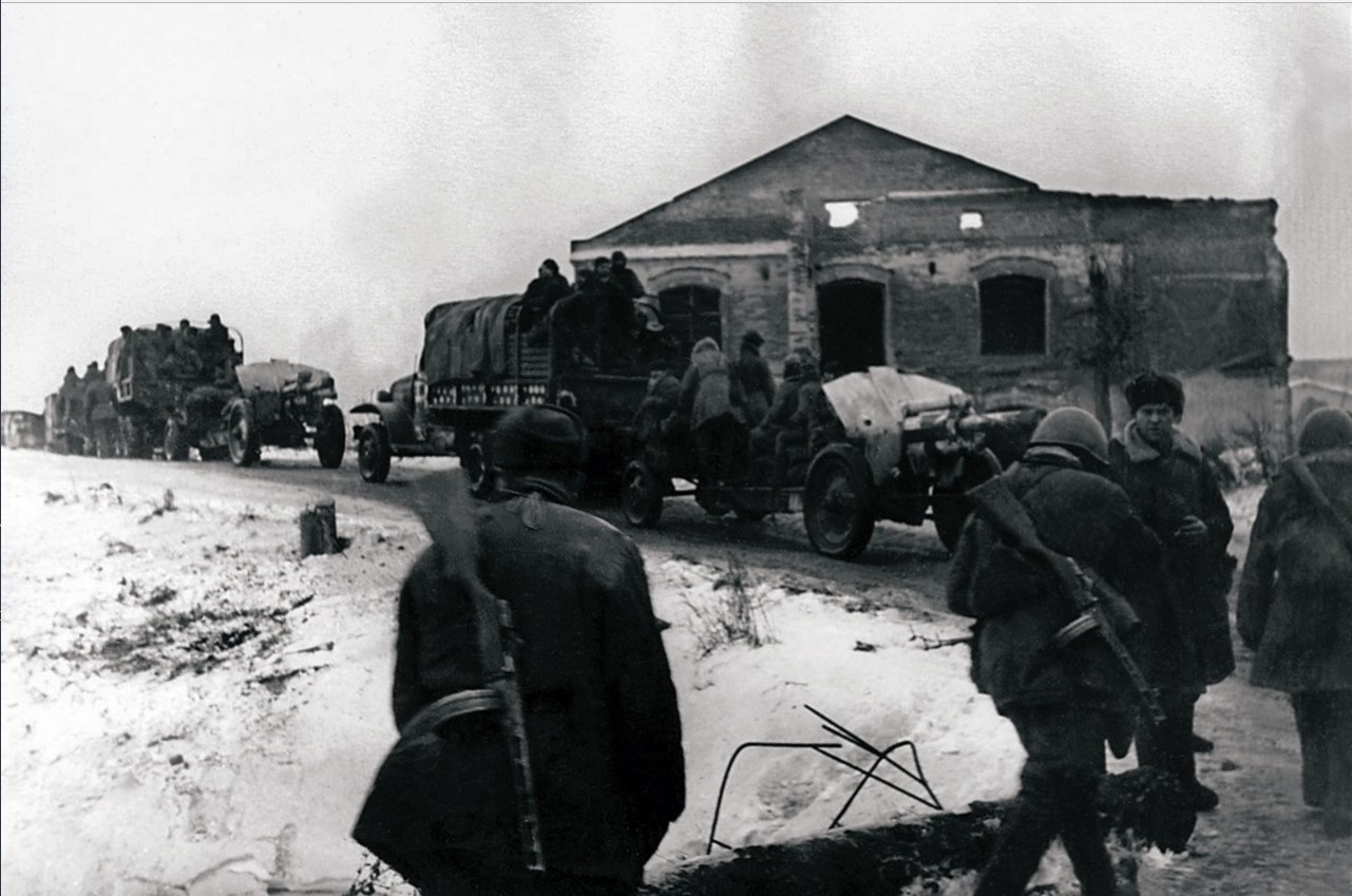 1944. Продвижение частей Красной Армии. Красное село
