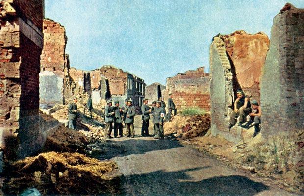 Цветные фото Первой мировой войны