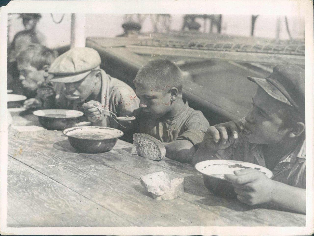 1930. Молодые моряки торгового флота
