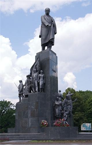 Памятник Шевченко в г. Харькове, 1929