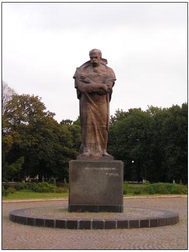 Памятник Шевченко, Ужгород