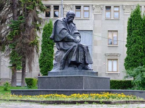 Памятник Шевченко в Тернополе, 1982
