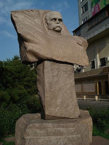 Памятник Шевченко в Алма-Ате, Казахстан