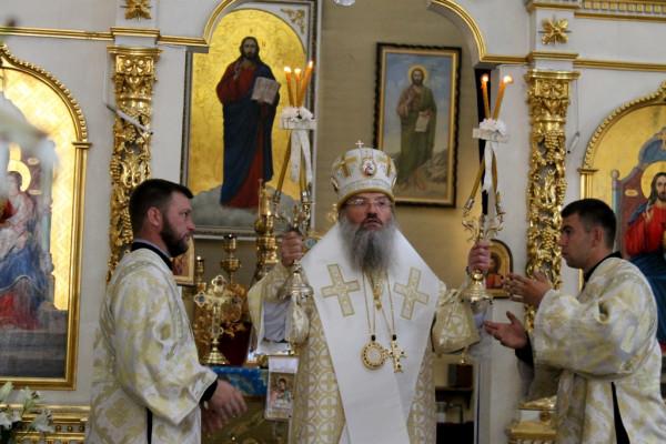 Митрополит Запорожский Лука: Слово благодарности архиепископу Афинскому Иерониму.