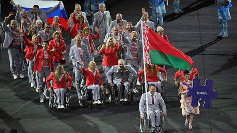Сильные духом против ничтожеств: У спортсмена из Белоруссии отобрали российский флаг на «Маракане»