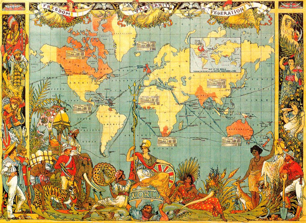 Британская империя - тризуб