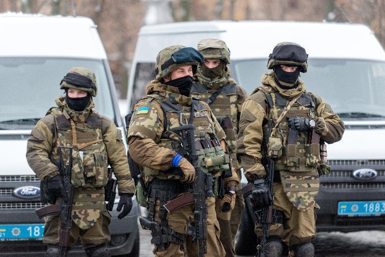 Харьков 22.01.2015 AFP Photo Sergey Bobok