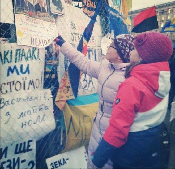 Баррикады на улицах Киева8