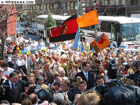 2_Кличко под бандеровским флагом