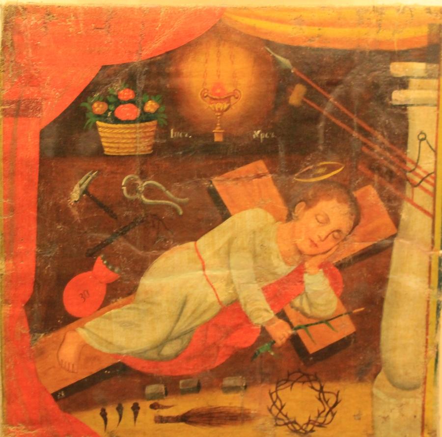 Сон маленького Исуса о грядущих крестных муках