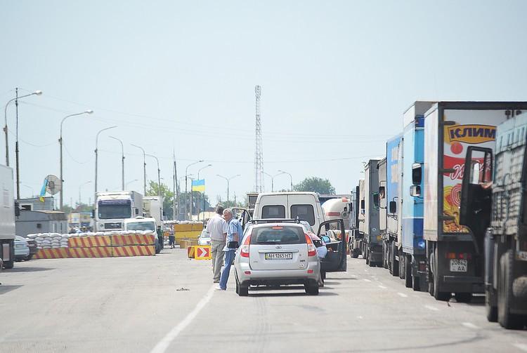 На въезде в Крым4