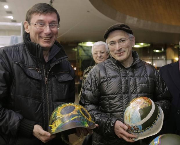 Ходорковский на майдане 1