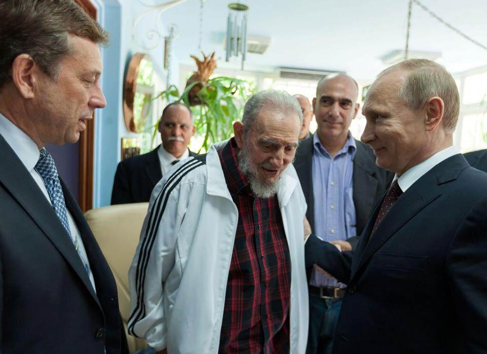 Путин_Кастро