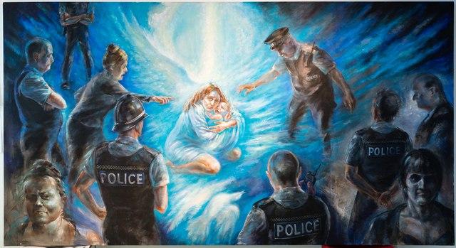 Полиция-Живопись Альбины Кумировой