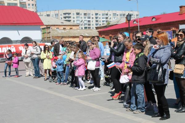 Союз Добровольцев России подарил детям настоящий праздник!