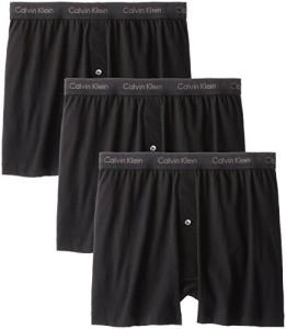 Calvin-Klein-Mens-3-Pack-Cotton-Classic-Knit-Boxer-Black-Large-0
