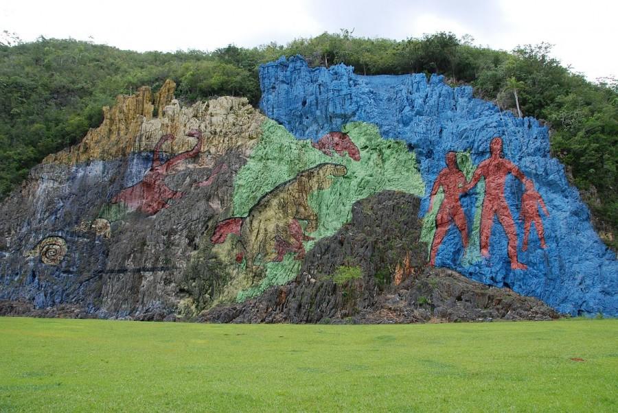 24 Cuba - Vinales Valley - Mural de la Prehistoria