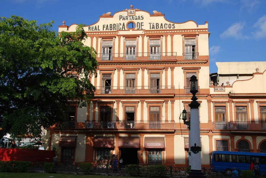 52 Cuba - Havana Centro - Real Fabrica de Tabacos Partagas cigar factory