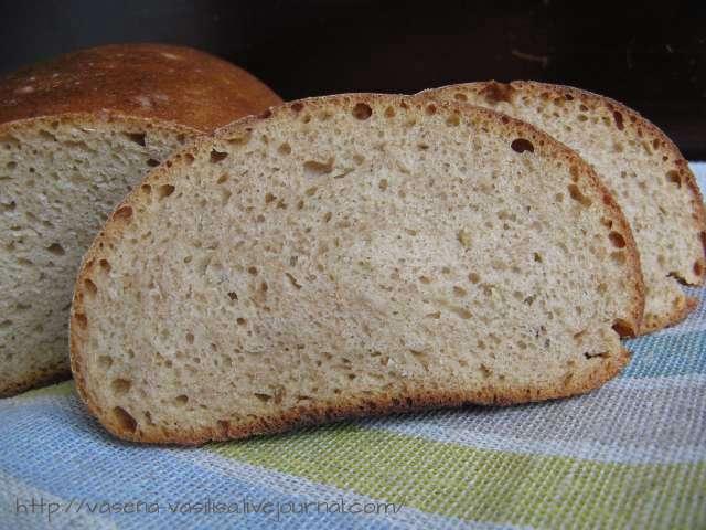 Хлеб витебский подовый раз