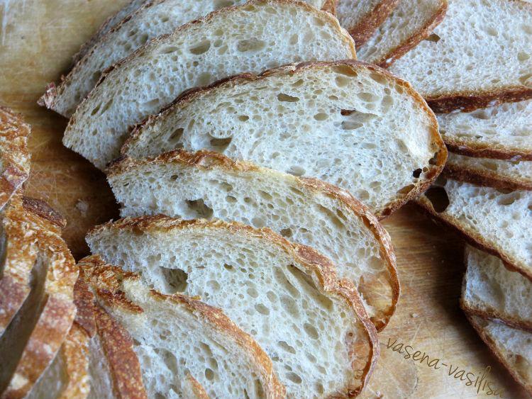 Бордосский хлеб, нарезка