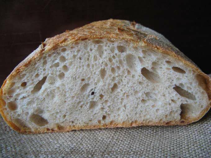 Хлеб с цз мукой